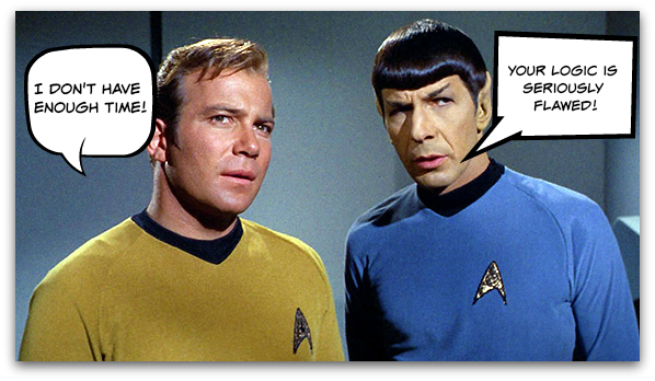 Spock and Kirk on Logic