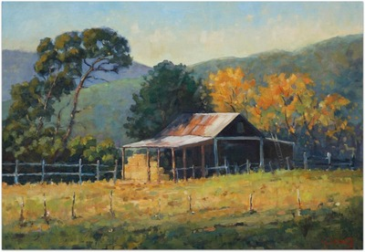 A Touch of Gold oil painting by Malcolm Dewey