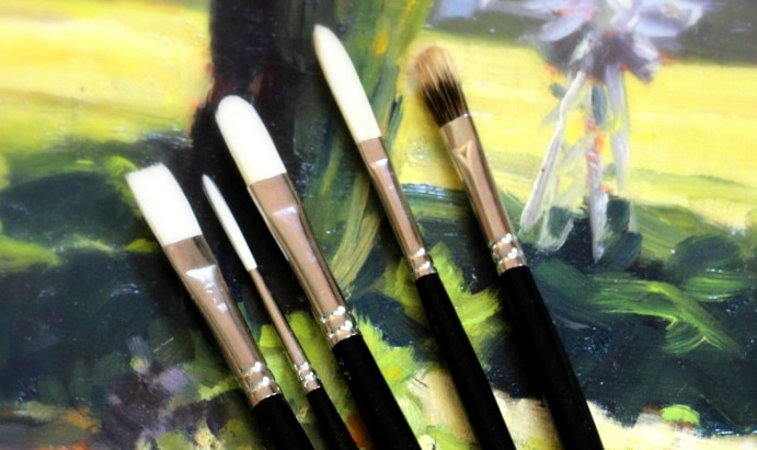 Rosemary and Co Paint Brushes Review