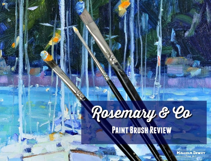 Rosemary and Co Paint Brush review