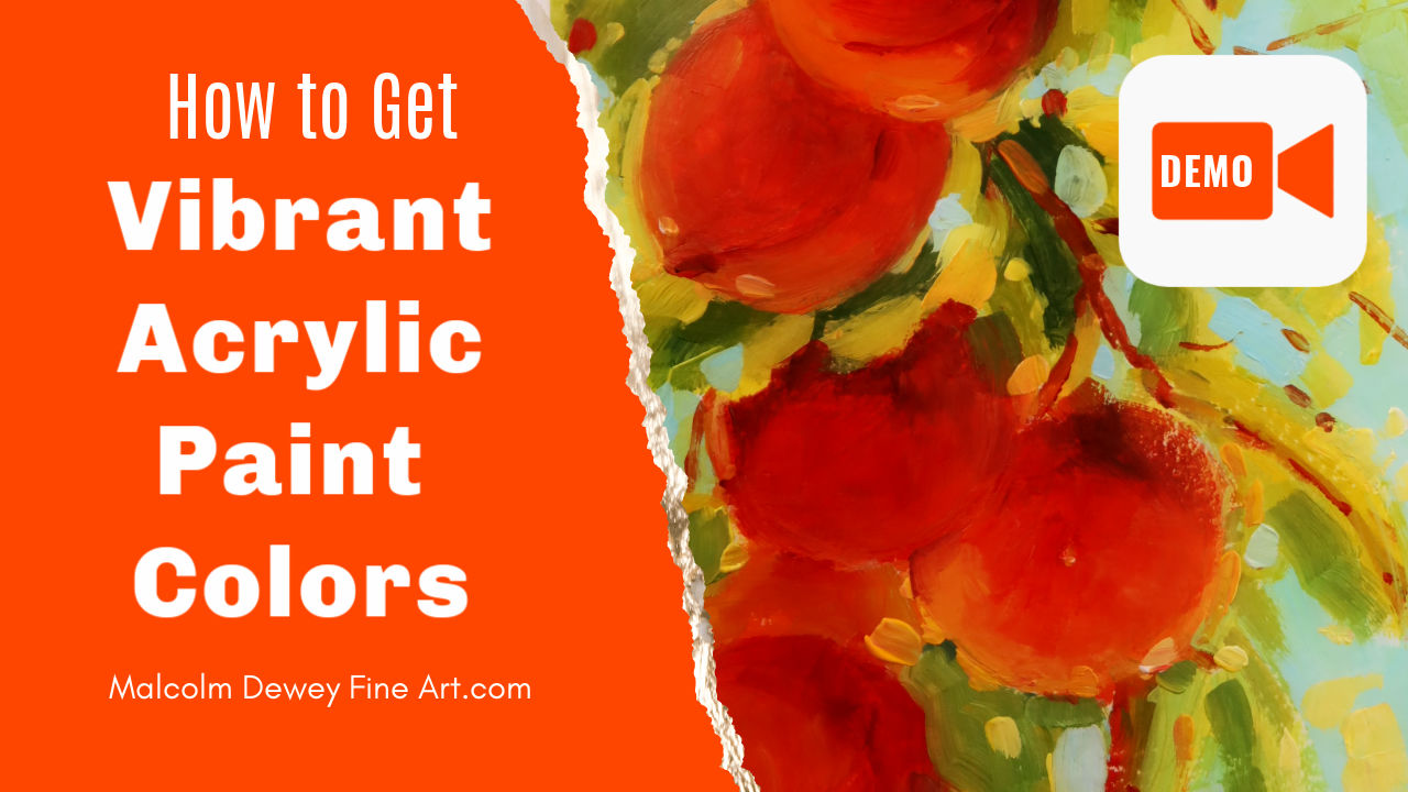 Acrylic Color Mixing for Vibrant Color
