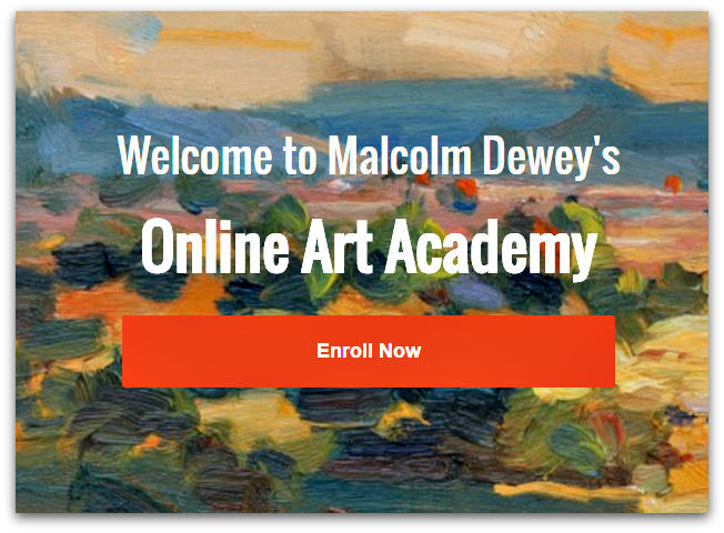 Online Art Academy with Malcolm Dewey