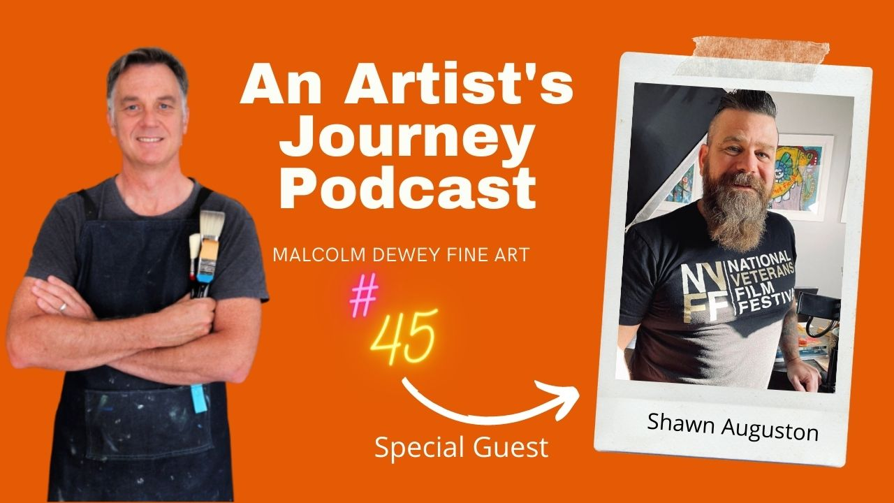 Shawn Auguston interview on art therapy