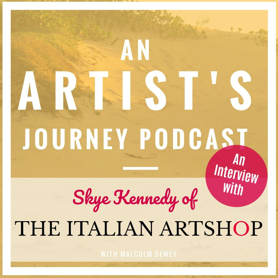 Interview with The Italian Artshop and Malcolm Dewey