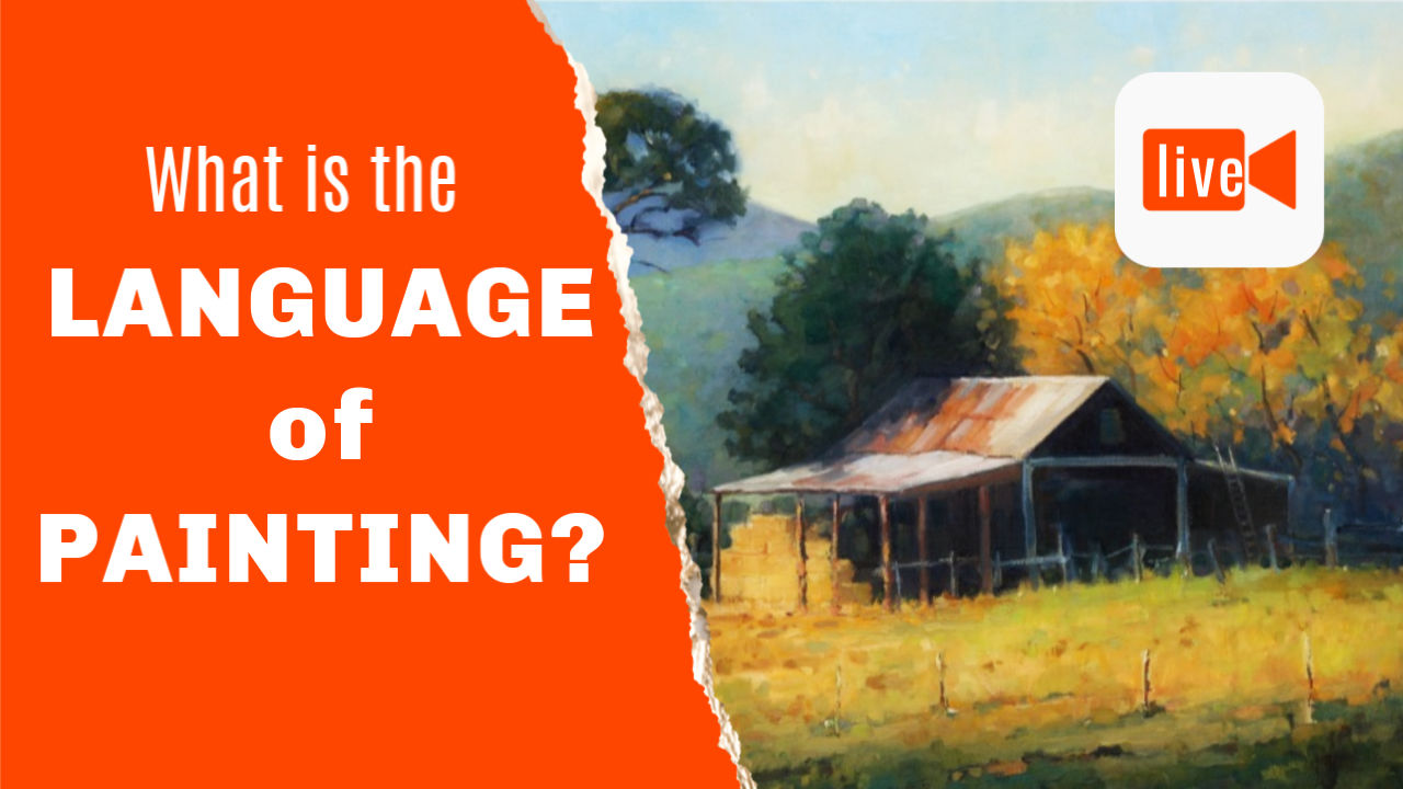 The language of painting explained.