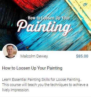 How to Loosen Up Your Painting