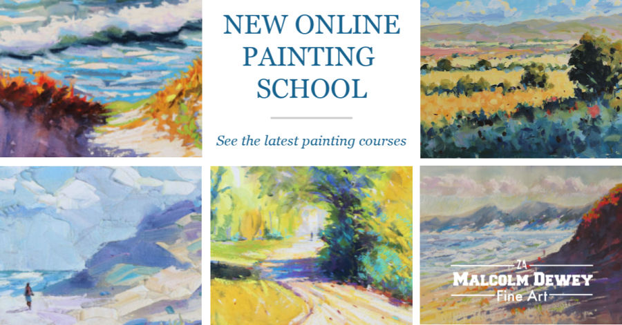 Online Painting School with Malcolm Dewey