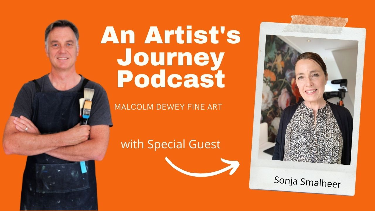 An Artists Journey Podcast interview with Sonja Smalheer