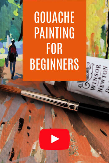 Gouache Painting Guide for Beginners:
