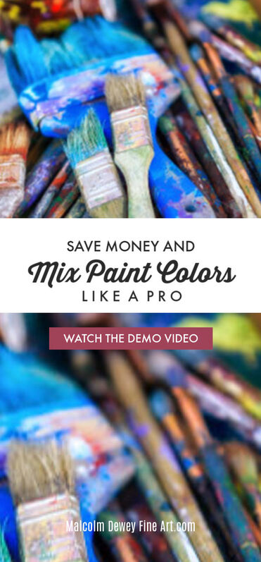 Learn to mix your paint colors and save money too.