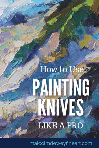 How to Paint with Painting Knives