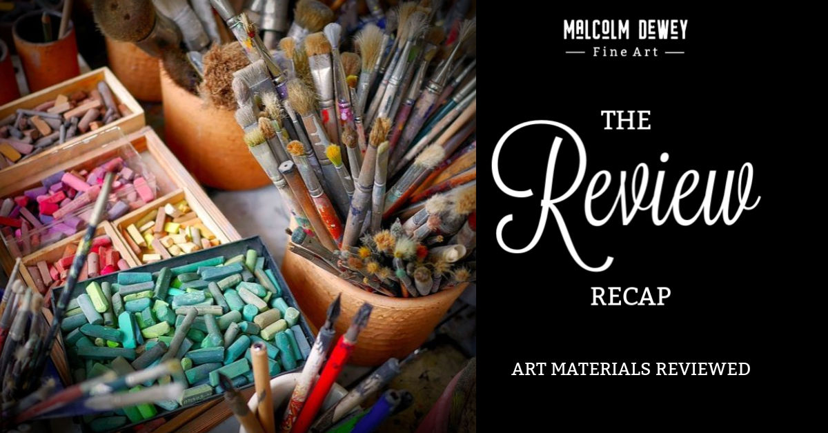 Art Materials reviewed with Malcolm Dewey