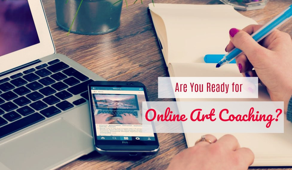 Online art coaching benefits